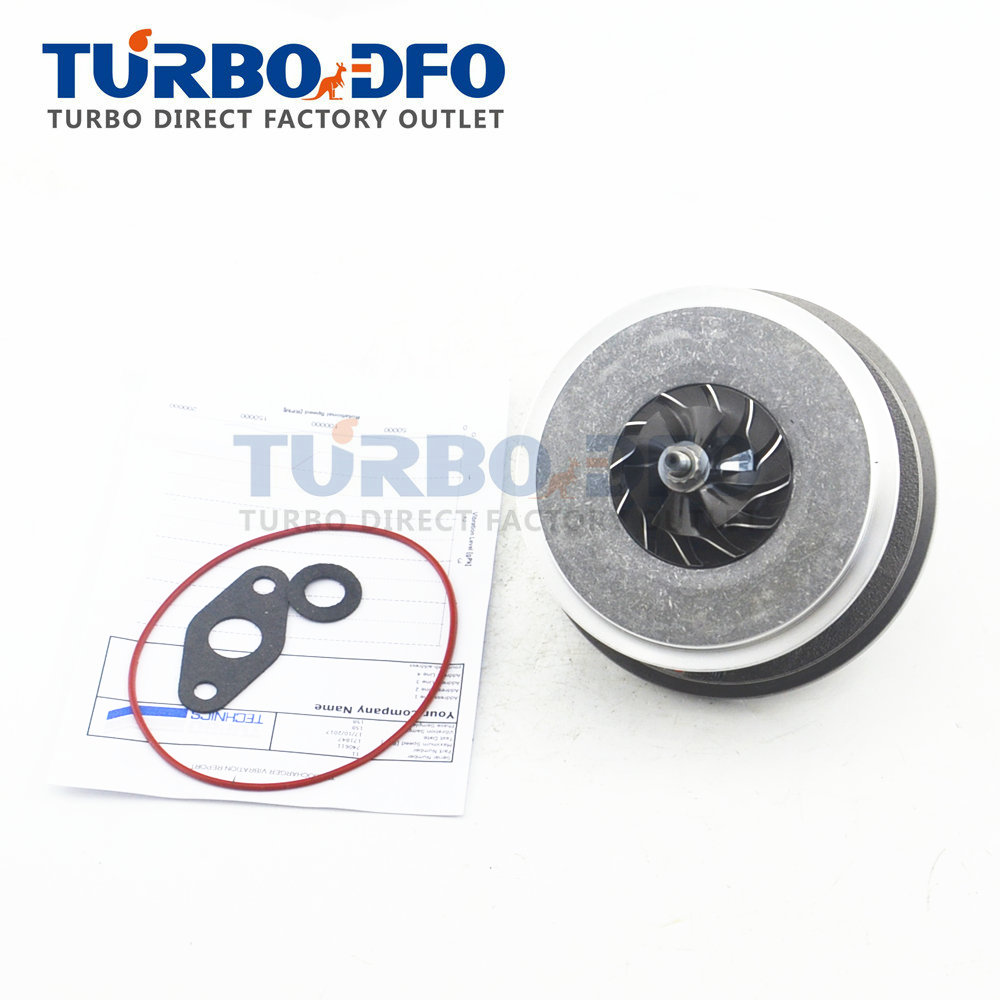 New Garrett turbocharger cartridge core CHRA turbo 766111-1 for Hyundai i30 1.6 CRDI D4FB 115 HP 2007- 28200-2A160 turbo rebuild repair kit bv43 53039880122 53039880144 53039700144 28200 4a470 282004a470 for kia sorento 2001 06 d4cb 2 5l crdi