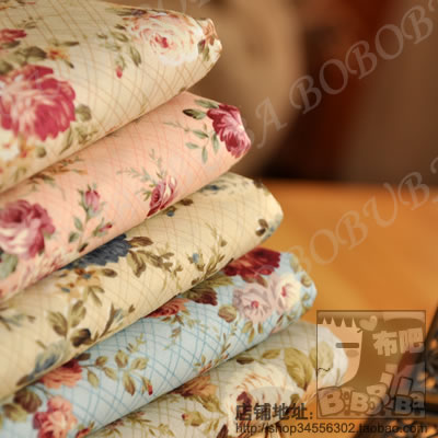 colored prints cloth cotton fabric diy dress clothes