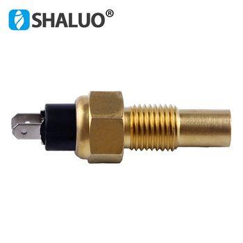 Czujnik temperatury wody silnika wysokoprężnego VDO 120C część generatora alarmowego transmision uniwersalny czujnik elektryczny pochodzenia marki tanie i dobre opinie SHALUO 14mm 17mm 21mm diesel engine MAX 120C