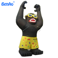 DC05 BENAO Advertising Inflatable Gorilla For Sale/ Inflatable Gorilla King Kong for sale
