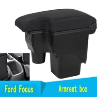 For Ford Focus mk2 armrest car Centre Console Storage Box mk2 Arm rest products interior car styling accessories parts
