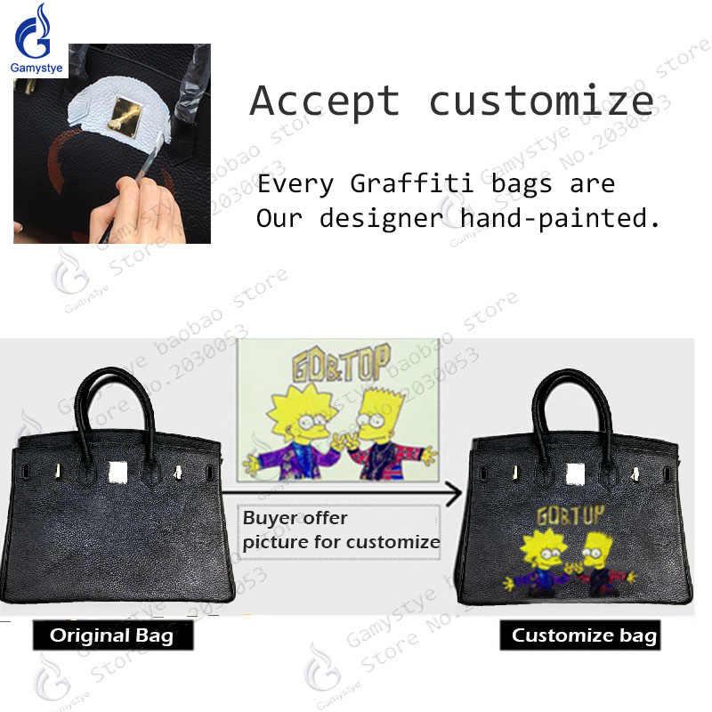 ... Gamystye Brand New Original Design Handbag Vintage Women Cow Leather  Shoulder Bag Togo Leather Messenger Bag ... ab2be94cee2c4