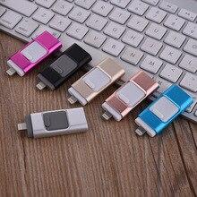 3.0 USB Flash Drive 64GB Pendrive High Speed USB Memory Stick 32GB Pen Drive USB Flash U Disk 8GB 16GB For Iphone7 7s Plush Ipod
