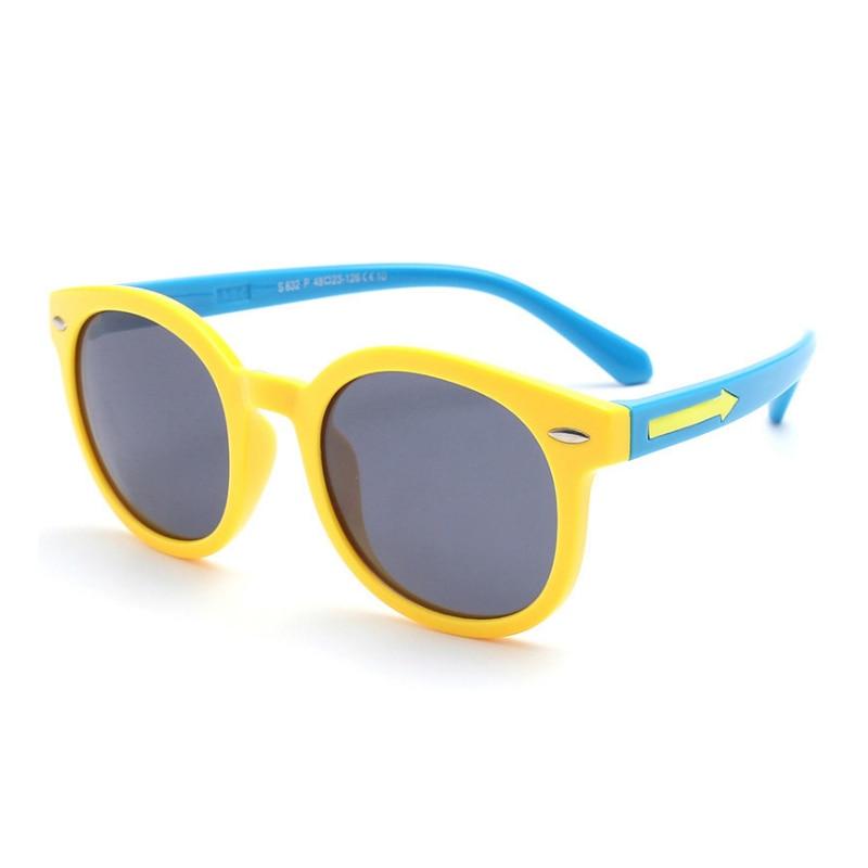 Fiúk és lányok nyíl m köröm napszemüveg divat napszemüveg - Ruházati kiegészítők