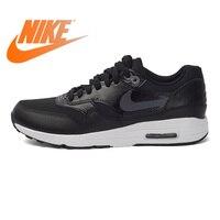 Оригинальный Nike Оригинальные кроссовки Air Max 1 Низкий Топ DMX для женщин кроссовки Nike Женская обувь прогулочная удобные 881104