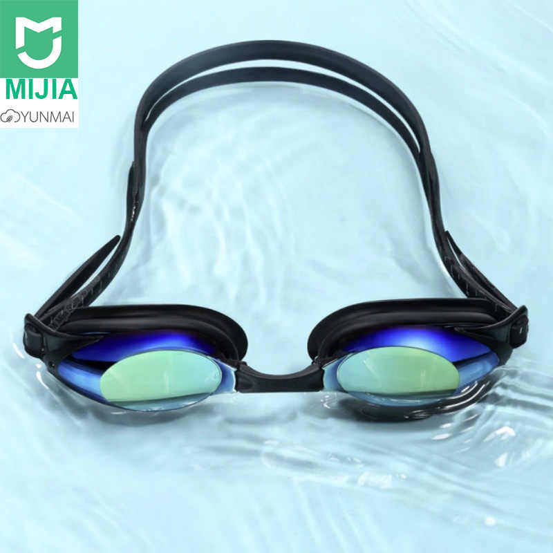 New Xiaomi Yunmai Swimming Glasses Professional HD Anti-fog Swimming Goggles with Nose Clip Earplugs Set for  Adult Eyewear