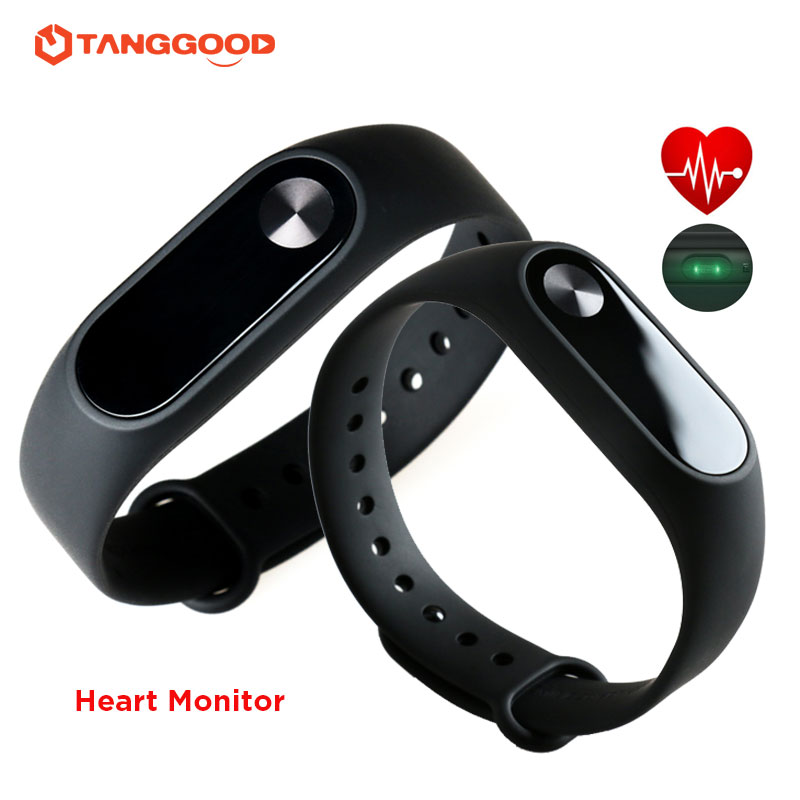 Xiaomi Mi Band 2 Smart Heart Rate Monitor OLED Touch Screen Bracelet Wristband Fitness Tracker