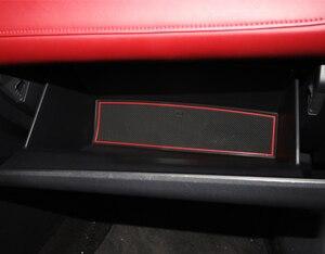 Coussin antidérapant en Latex pour voiture | Tapis de fente pour voiture, rainure intérieure de porte, accessoires Auto pour MG6 2018 2019 tapis de décoration interne 13 pièces
