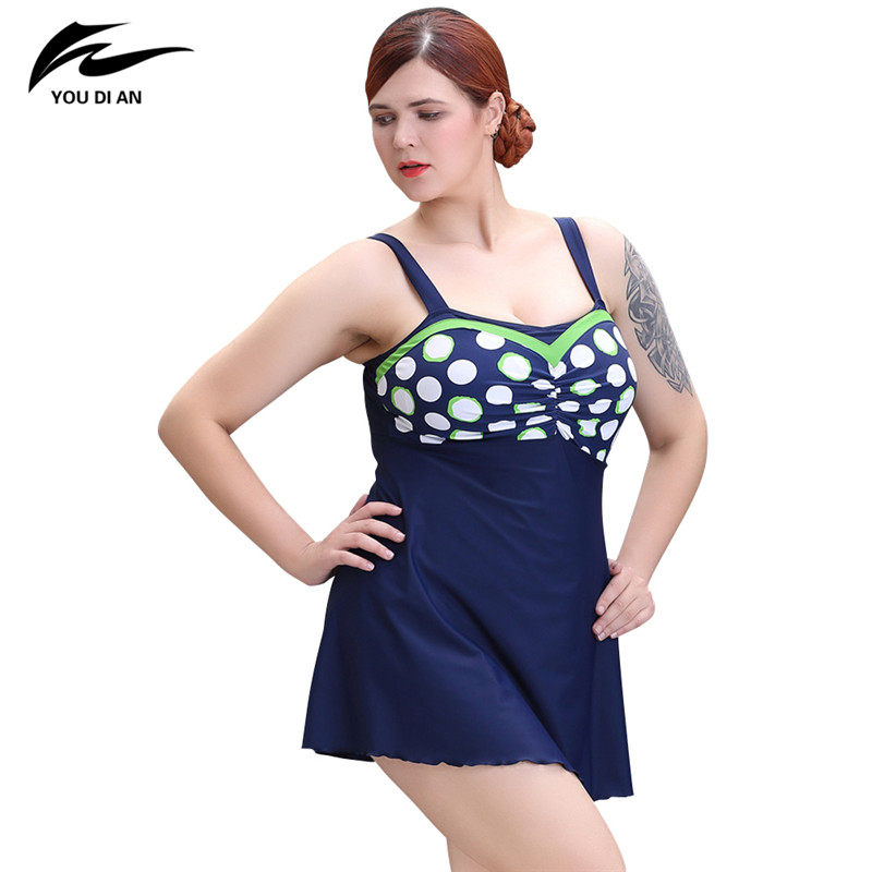 2017 New Plus Size Swimwear Women One Piece Swimsuit Push Up Bathing Suit Women Sexy Beach Dress Swim Wear 2017 new one piece swimsuit push up plus size swimwear women summer sexy beach dress large size bathing suit swimming dress