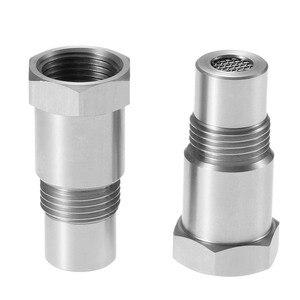 Image 5 - Yetaha 2 uds Sensor O2 separador motor luz CEL eliminador con Mini convertidor catalítico para Rosca M18 X 1,5