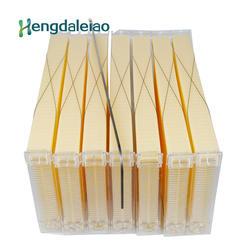 Шт. Лидер продаж 7 шт. пластик Авто поток рамки улья гребень основа для макияжа лица/мед гребень пчеловода