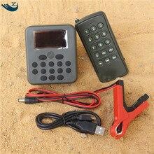 200 Bird Sounds 50W Speaker Device Digital Hunting Mp3 Bird Caller Bird Caller Mp3 With Remote Control