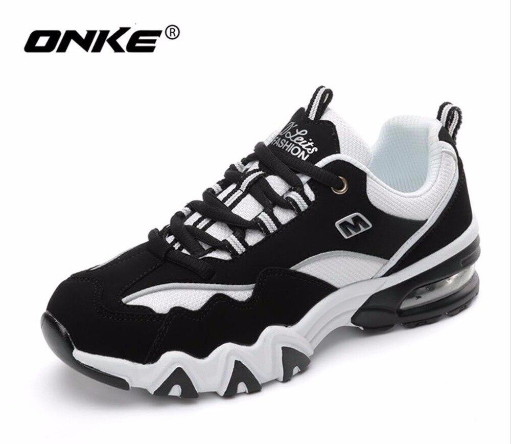 ONKE nouvelle liste des offres spéciales printemps et automne respirant hommes chaussures de course baskets femmes chaussures de sport amoureux chaussures 816-A16