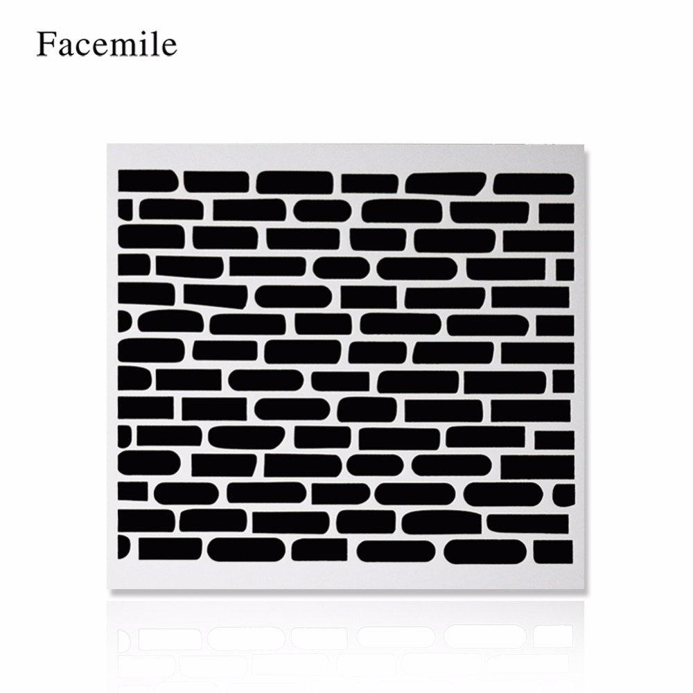 Facemile Baking Tool Stencil For Cake Decorating Wall Home Lattice ...