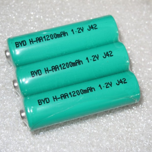 US $20 09 |100% New Original battery for BYD Ni mh aa battery 1200mah nimh  rechargeable battery-in Rechargeable Batteries from Consumer Electronics on