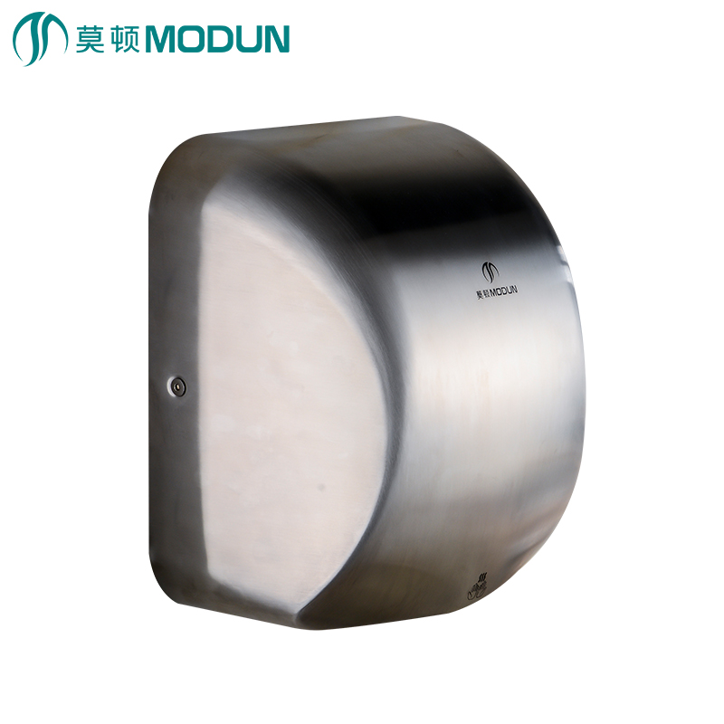 MODUN direct high velocity stainless steel automatic hand dryer alta velocidad acero inoxidable 304 secador de manos M-9998 modun m 788 1200w automatic induction hand dryer white 220v 2 flat pin plug