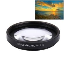 Xiaomi xiaoyi ю. и. ii 4 К спорт действий камеры профессиональный 37 мм CPL Фильтр/12.5X Макро Фильтра Объектива Объектив Защитный Колпачок крышка