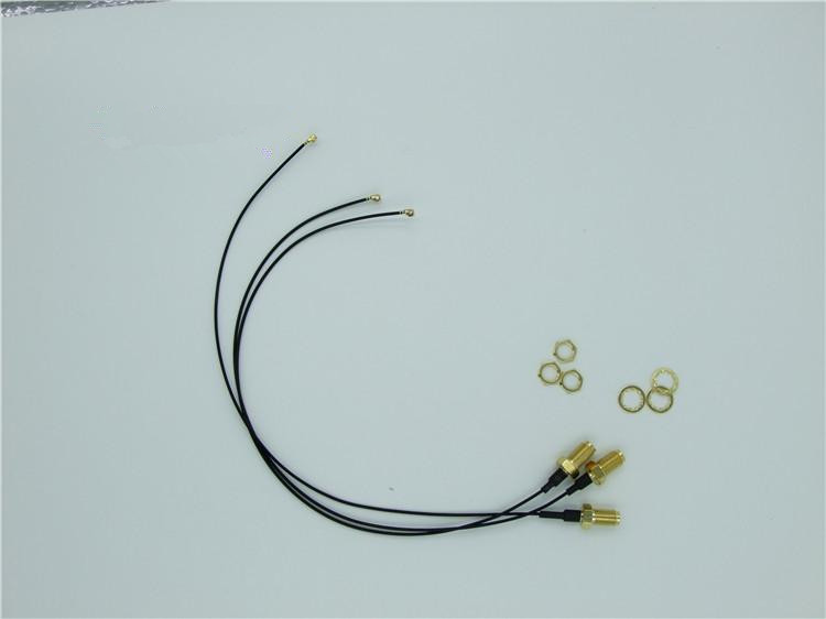 Ipx to SMA extension cable SMA outer screw hole jumper to U.FL WIFI wireless module dedicated jumper