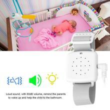 Detector de agua 3 en 1, Sensor de alarma urinaria, vibración de sonido para detector de fugas de bebés