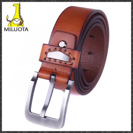 NEW Arrival 2015 Men Belt Brand Designer 100% Genuine Leather Strap Fashion Belts For men free shipping DE039