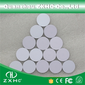 Image 4 - (10pcs) Round Shape 25mm NFC Tag Ntag216 888 Bytes Plastic PVC Coin Cards Used For Android,IOS And All NFC Phone