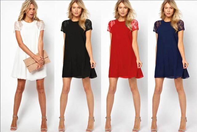 Vestidos sueltos cortos 2015