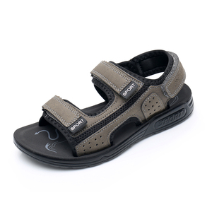 Image 4 - Apakowa 주니어 보이즈 오픈 토 프트 3 스트랩 스포츠 샌들 키즈 여름 해변 워킹 워터 슈즈 old Teens Boy Outdoor Footwear