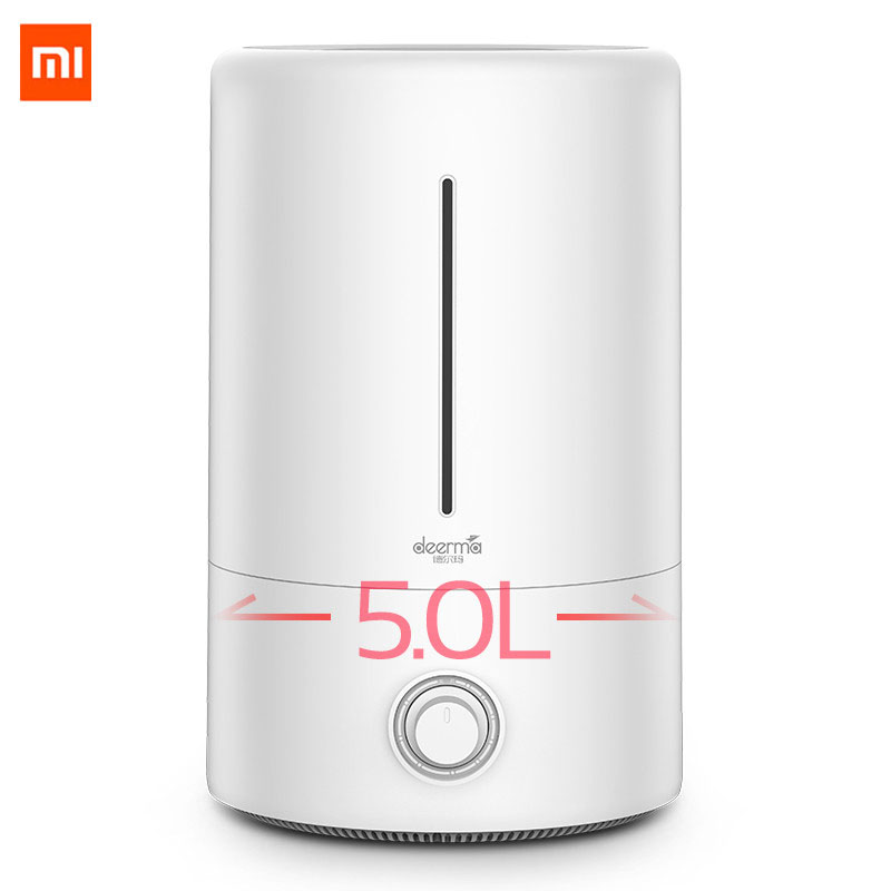Original Xiaomi Deerma 5L Air Humidifier for Baby Family Pregnant in Bedroom Office household AC ON