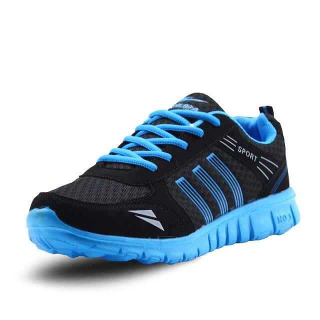 Большой размер Мужчины Повседневная обувь Мода Прогулки Легкие Любителей Женщины Мужчины Обувь Сетка Продаж Плоские Дышащие Удобные