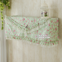 All-inclusive Hanging Air Conditioning Cover Cloth Rustic Rose Fabric Air Conditioner