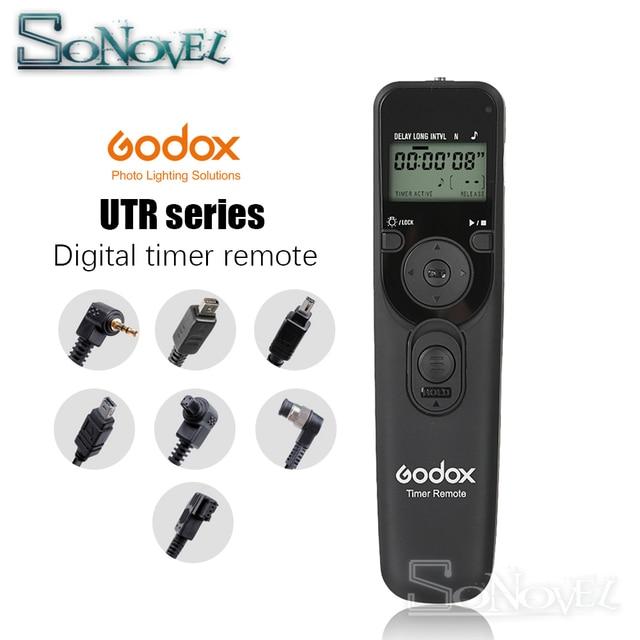 Godox Timer Remote Control Shutter Release DC0 DC2 N3 E3 S1 Cavo Per Canon RS 60E3 RS 80N3 Nikon MC DC2 Sony Olympus macchina fotografica