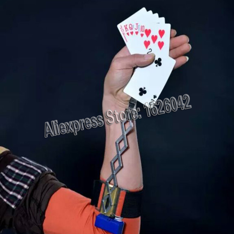 XF Classical Automatic Aluminum Electromotion Card Poker Ghost Hand For Gamble Cheat And Magic Poker