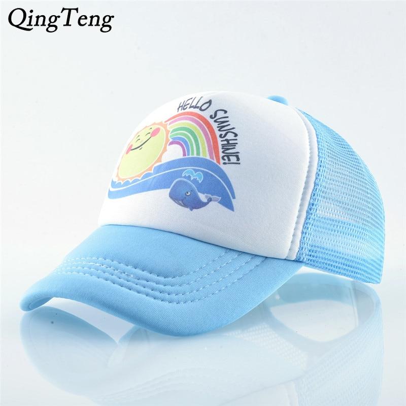 2 Baseball Cap Quick Dry Mesh Back Trucker Hat for Unisex Boys and Girls 100/% Polyester The Skull Pattern