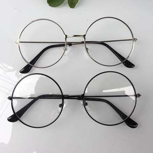 d8dc0f6e1534 KLASSNUM man Woman Round Glasses Transparent eyeglass frame