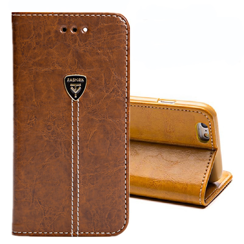Case Leather Wallet Samsung S8 Note9 Business-Style S6-Plus Vintage For S9 S3 S4 S5 Card-Slots