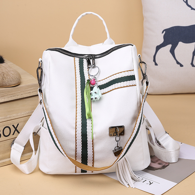 Fashion 2019 Female Backpack Casual Women PU Leather Backpack Female Shoulder BagTravel Back Pack