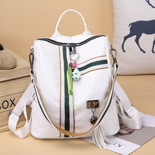 Fashion 2019 Female backpack Casual Women PU Leather Backpack Shoulder BagTravel Back Pack