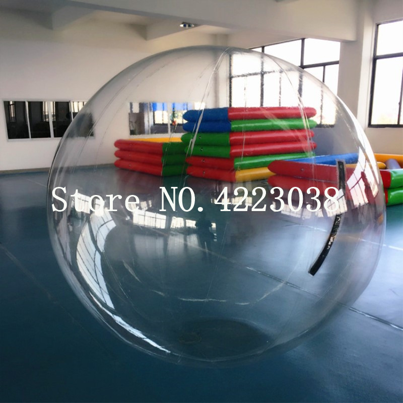 Livraison gratuite 2 m diamètre populaire eau marche balle piscine PVC gonflable balles multi-fonction boule d'eau danse balle