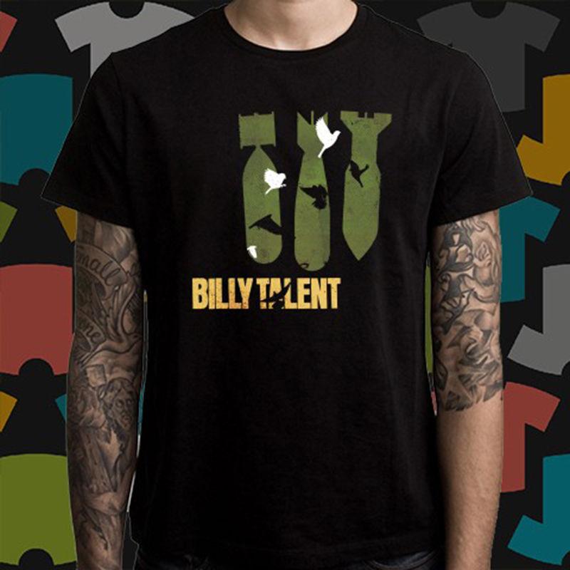 Новый Билли талант III панк-рок-группа Для мужчин черный футболка Размеры S до 3XL футболка с принтом Для мужчин Горячая футболка Высокое качес...