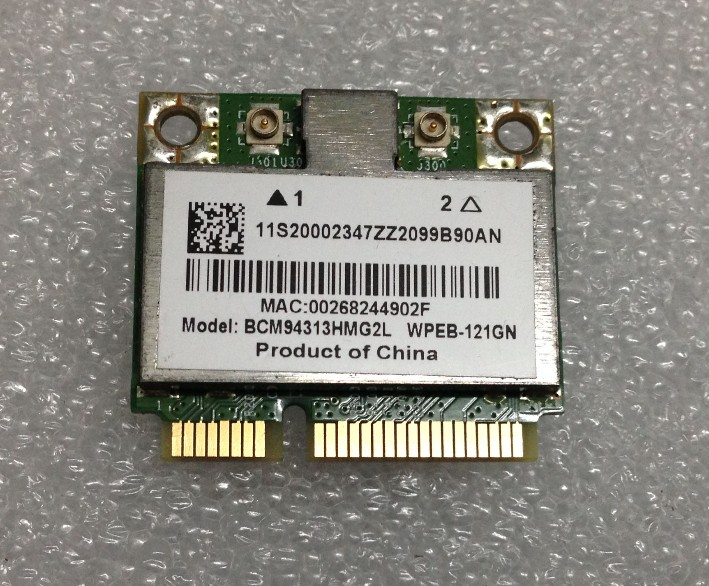 BCM94313HMG2L BCM94313 BCM4313 B560 V560 G555 G560 Z560 Z565 Moitié WLAN Carte pour IBM Lenovo thinkpad