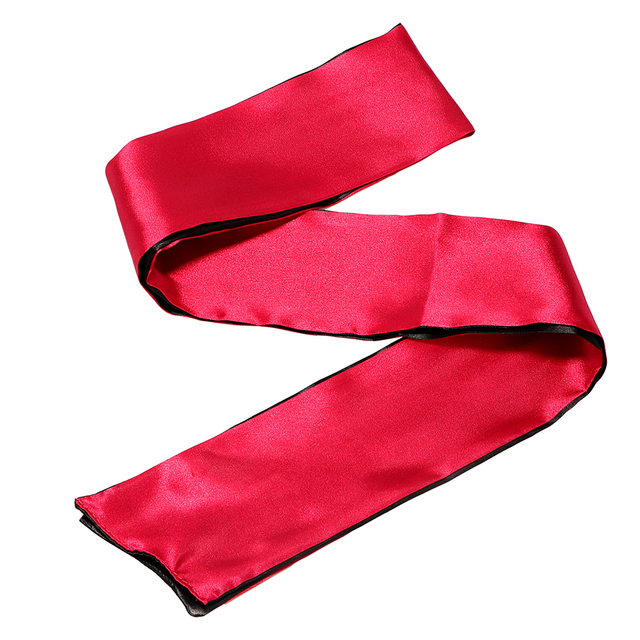 IKOKY Red with Black SM Bondage Adult Games Sex Toys for Couple Blindfold Role Play Party NightLife  Sex Eye Mask Erotic Toys