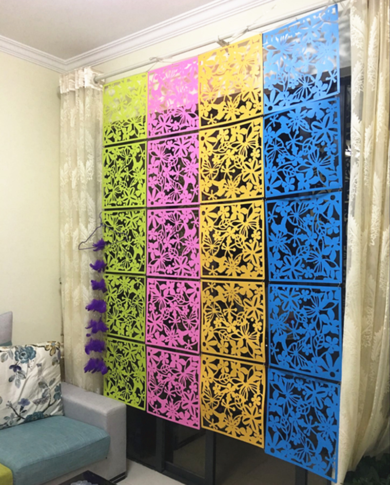 Partition Divider Aliexpress  Buy 12Pcs Room Divider Biombo Room Partition Wall