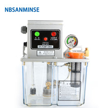 NBSANMINSE SDY2-32P Lubrication Pump 3 Liter 2 Mpa with Pressure switch level for Thin Oil lubrication system