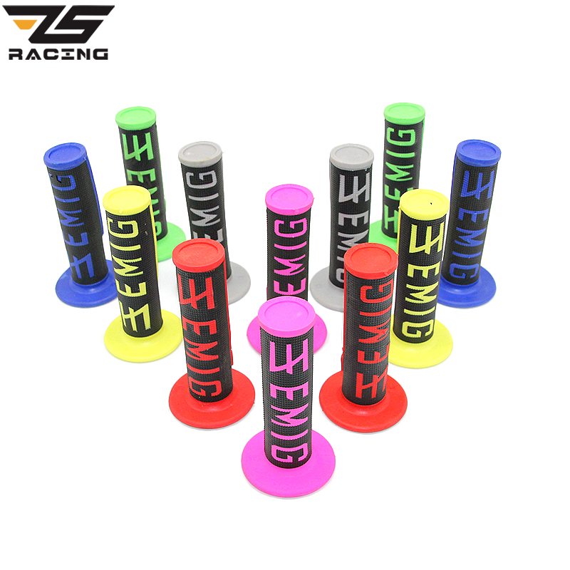 ZS Racing 7/8 Motorcycle Hand Grips Universal Handle Bar For Dirt Bike/Pit Bike Used For Motocross Handle GripsZS Racing 7/8 Motorcycle Hand Grips Universal Handle Bar For Dirt Bike/Pit Bike Used For Motocross Handle Grips