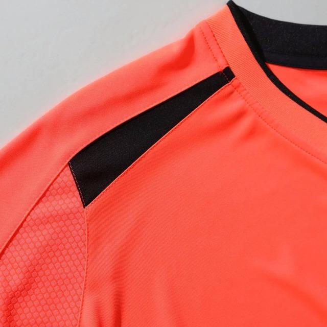 ZMSM Mens Football Sets 2017 Long sleeves Micro elasticity Soccer Jerseys shorts Perfect quality Football uniforms QD1675