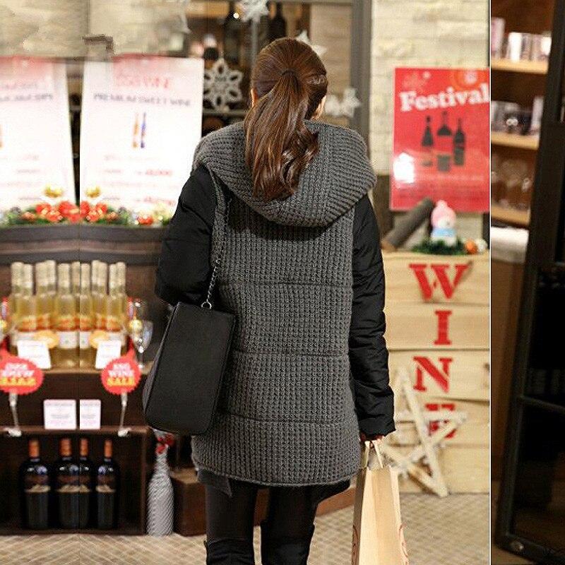 Übergroßen Mäntel Casual Parkas Winter Jacke Frauen Mit Kapuze Wadded Padded Jacke Weibliche Maxi Mantel Lose Plus Größe Winter Mantel C2661-in Parkas aus Damenbekleidung bei  Gruppe 3