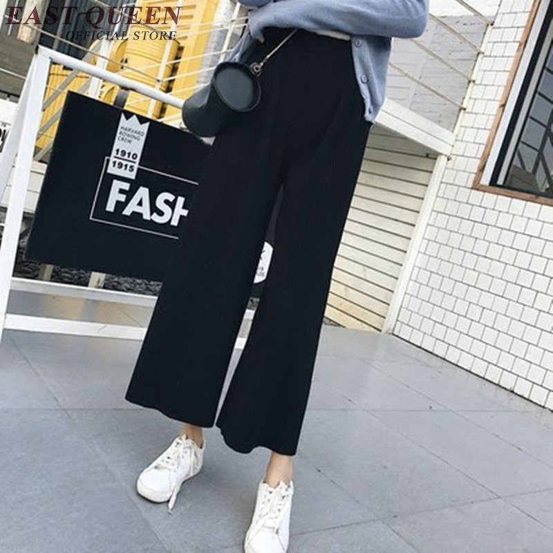 Baggy   pants   women trousers classic Women's High Waist   Wide     Leg     Pants   KK1433 H