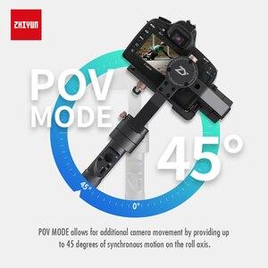 Image 2 - ZHIYUN Crane Plus Stabilizer 3 Axis Quick Balance Motorized Gimbal for Mirrorless Camera DSLR, Support 2.5KG POV Mode Handheld