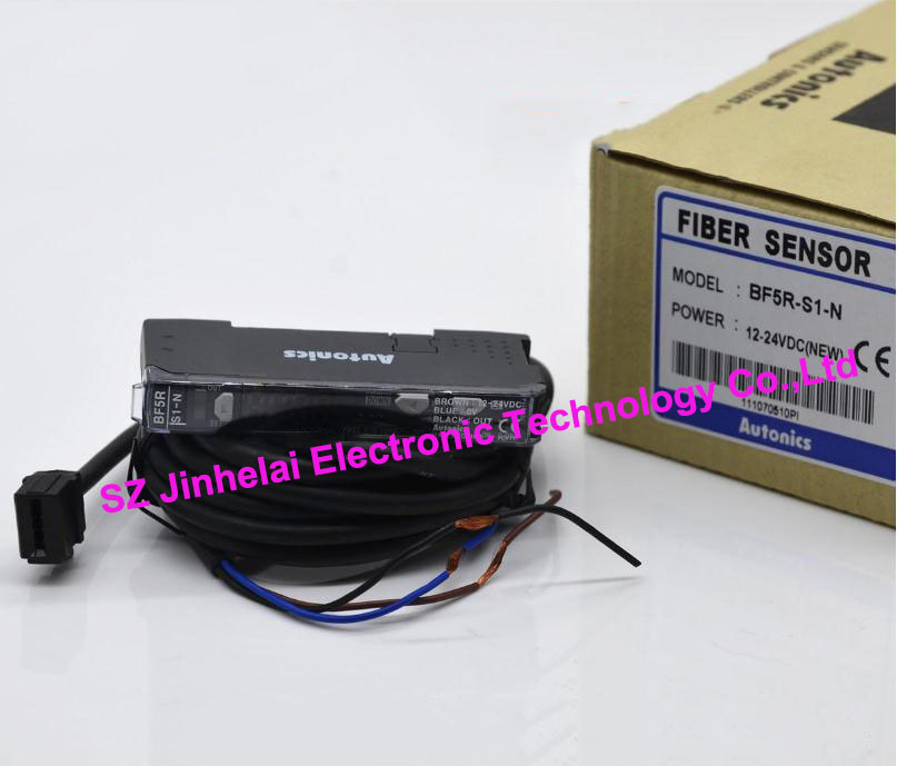 New and original  BF5R-S1-N   AUTONICS  FIBER SENSOR  12-24VDC otto nicks autonics optical fiber sensor bf3rx original genuine