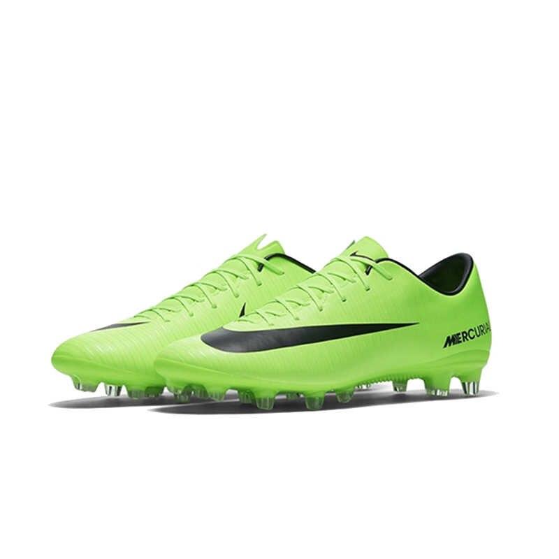 7e4bfcc7 ... NIKE MERCURIAL VICTORY AG Мужская обувь для футбола дышащая обувь супер  легкая поддержка спортивные кроссовки для ...